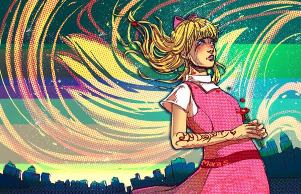 Helga in Bloom by Acaciathorn
