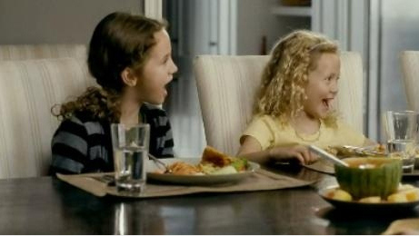 Maude and Iris Apatow in 'Knocked Up' and 'Funny People'