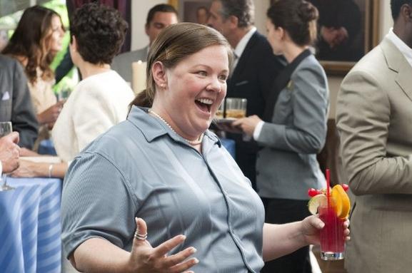 Melissa McCarthy as Emily in 'Bridesmaids'