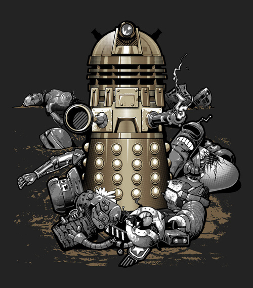 The Dalek Wins by Jimmy Benedict