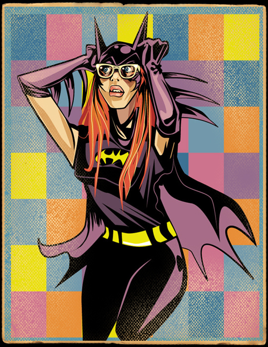 Hipster Batgirl by Jeff T. Owens