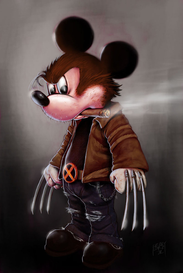 WolverMickey by GraphicGeek