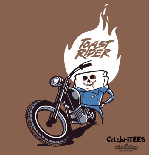 Toast Rider by Kinkiking