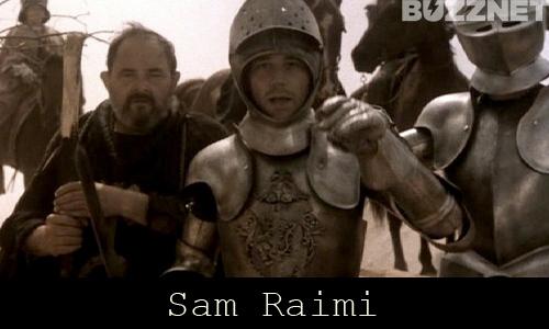 Sam Raimi in 'Evil Dead 2'