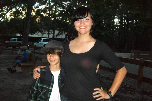 This little Justin Beiber look-alike was the crush of ALL the girl campers.