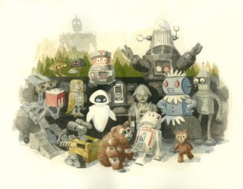 Pop Robots by Nathan Stapley