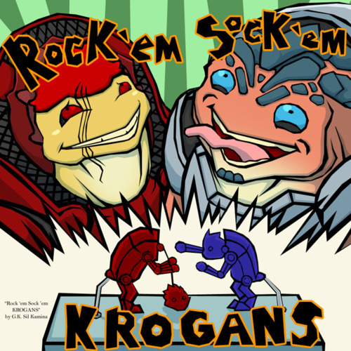 Rock em' Sock em' Krogans by GK
