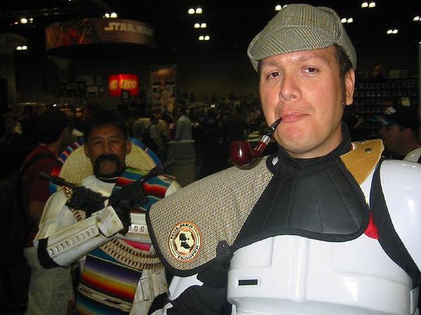 Sherlock Holmes and Pancho Villa Stormtrooper