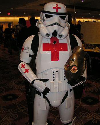 American Red Cross Stormtrooper
