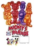 Mickey's Parade Popsicle