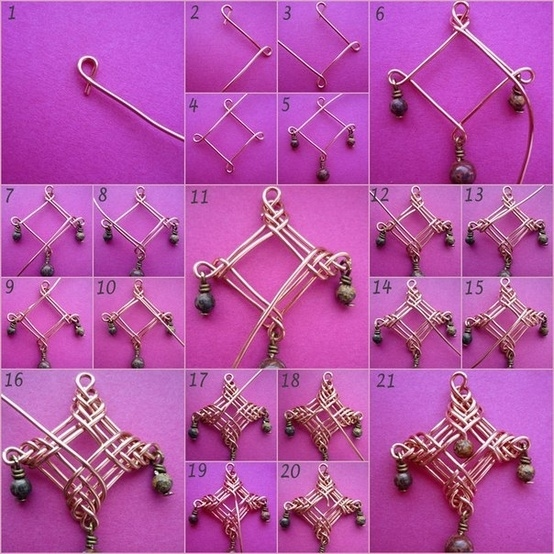 11 awesome diy jewelry ideas that you will love diy chicks 8 the wire motif pendant solutioingenieria Choice Image