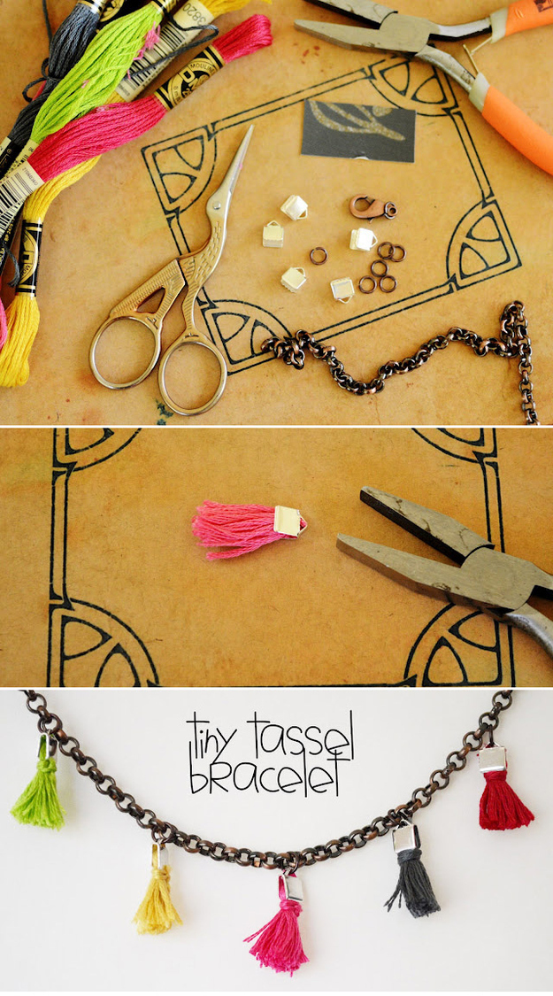 The Tiny Tassel Bracelet