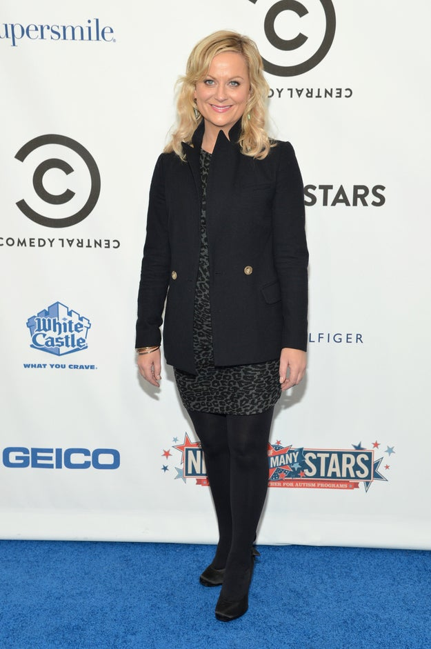 NEW YORK, NY - OCTOBER 13: Actress Amy Poehler attends Comedy Central's night of too many stars: America comes together for autism programs at The Beacon Theatre on October 13, 2012 in New York City.