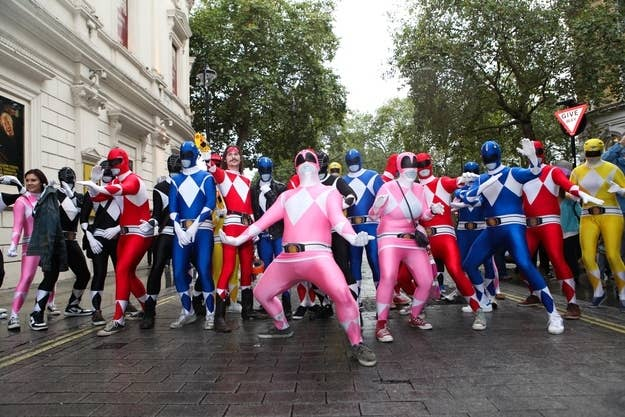 Power Rangers prepare for attack