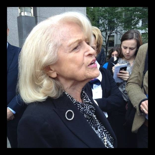 Edith Windsor is challenging the constitutionality of the Defense of Marriage Act.
