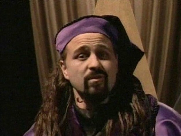 """Episode: """"The Tale Of The Sandman""""Why he was so scary: The Sandman was played by Bobcat Goldthwait. His voice is basically made of nightmares."""