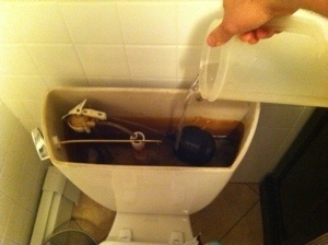Learn how to properly deal with human waste when you lose water.