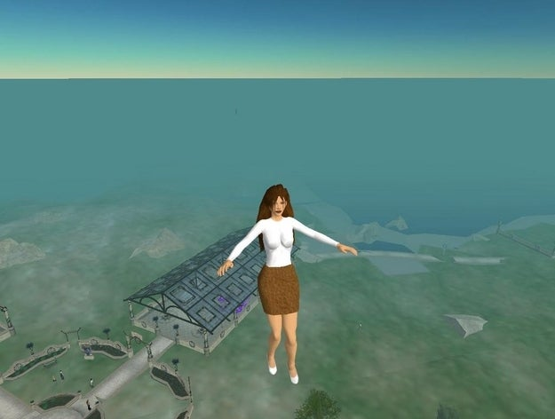 """In the virtual world, members (""""residents"""") fly from different islands, stopping to hang out in malls, nightclubs, churches, you name it."""