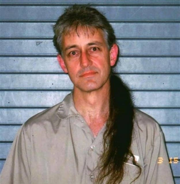 Federal prisoner Keith Russell Judd, 49, at the Beaumont Federal Correctional Institution in Beaumont, Texas in March 15, 2008.
