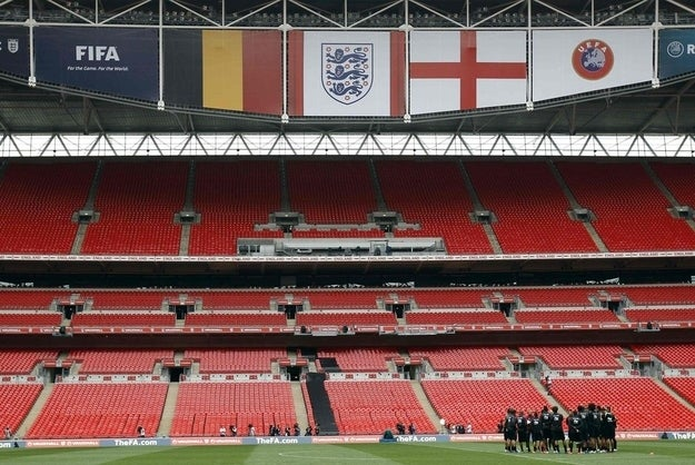 Hawkeye technology will be tested in this Saturday's friendly between England and Belgium.