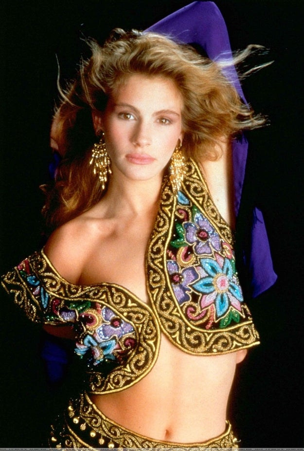 """Photographer: """"Julia, you're gorgeous! The only thing that could make you sexier is a genie costume. Let's do this."""""""