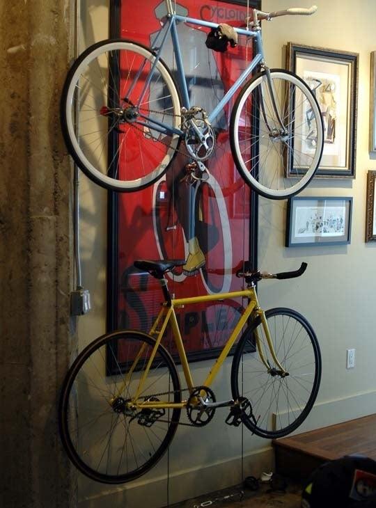 Apartment Building Bike Rack 12 space-saving bike rack solutions