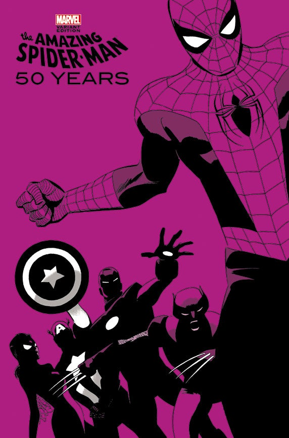 Exclusive Image: Spider-Man Through The Decades: 2000s Variant for 50th Anniversary Issue