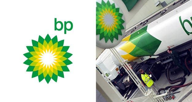 British Petrol (BP) logo price tag: $211,000,000The BP logo was redesigned in 2008.
