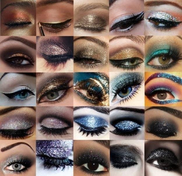 26 Ways To Make Glitter Your New Smokey Eye