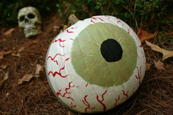 The Eyeball Pumpkin