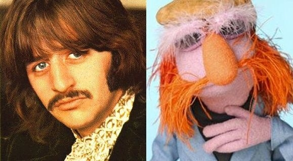 Ringo Starr and Floyd Pepper