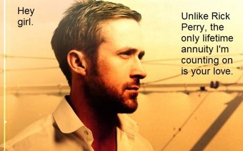 Poli Sci Ryan Gosling