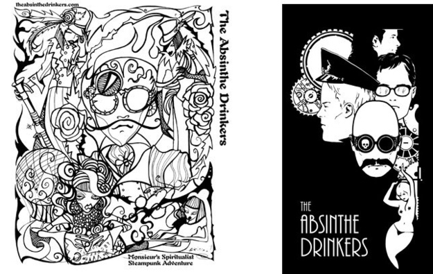 Steampunk Vol. 2 - Zeppelins - by The Absinthe Drinkers