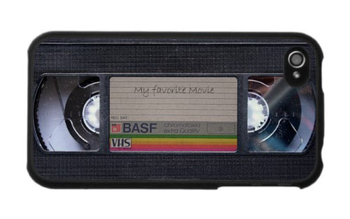 iPhone 4 / 4S Case: Video VHS Cassette Tape