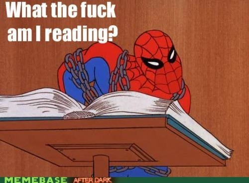 Image result for 90s spiderman book meme
