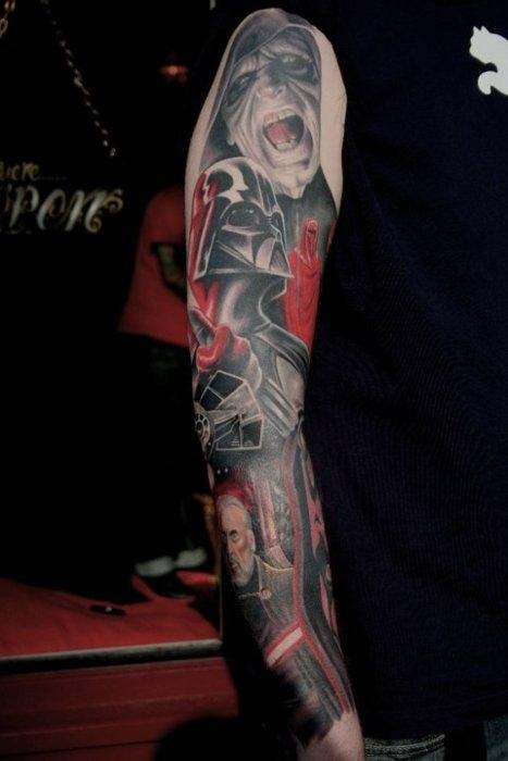 Dark Side Sleeve