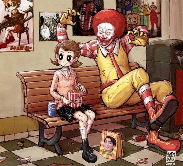 Scary Ronald by Julik Euklap Mong Giplarat