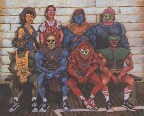 Skeletor's Team by Blake Wheeler