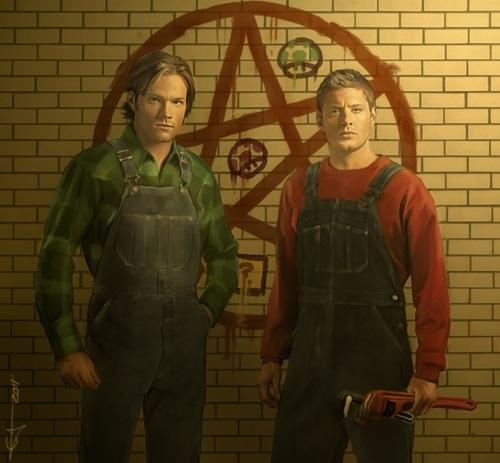 Supernatural Bros by Euclase