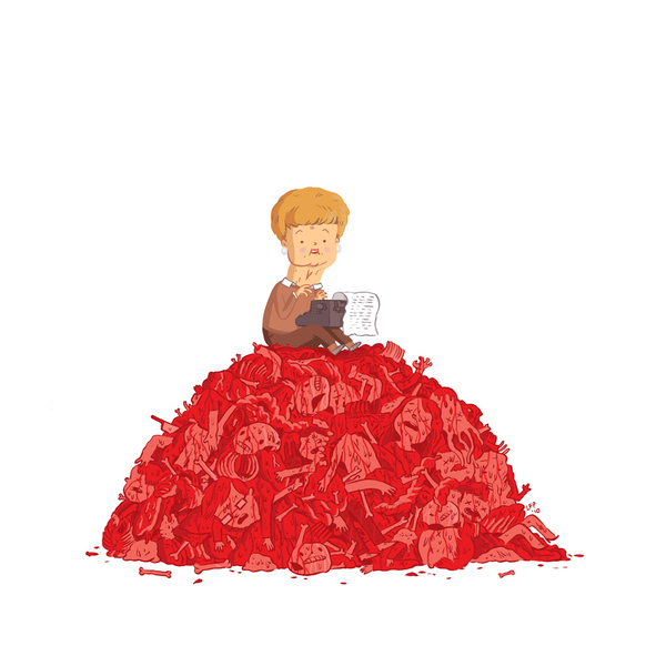 Many Murders She Wrote by Luke Pearson