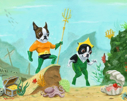 Boston Aquaman by B. Rubenacker