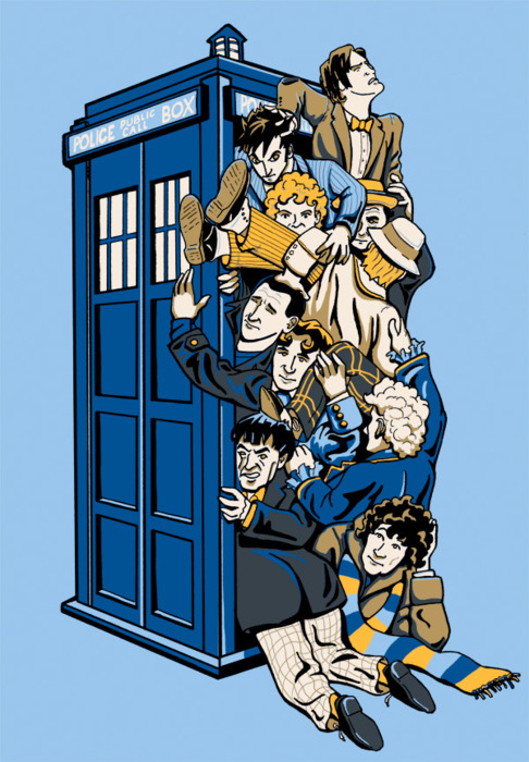 How Many Doctors Does It Take To Run a Tardis? by Ian Leino