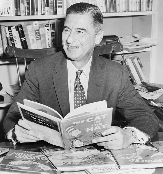 Theodor Seuss Geisel (Green Eggs and Ham, The Cat In The Hat, How The Grinch Stole Christmas!, etc.)