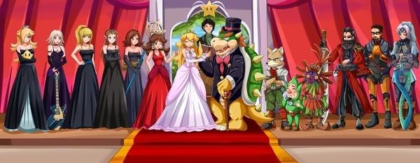 A Royal Wedding by Sigurd Hosenfeld