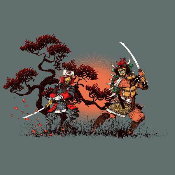 Mario Samurai by Vincent Bocognani