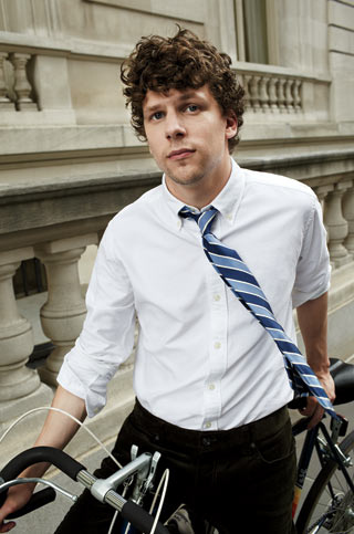 "Jessie Eisenberg: ""The Guy You Want to Be Antisocial With at a Party"""