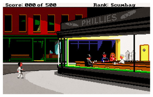Leisure Suit Larry Goes Looking for Love (in Several Wrong Places) and Edward Hopper's 'N...