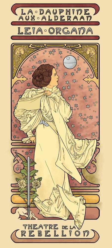 Nouveau Leia by Karen Hallion