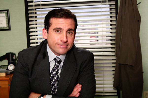 Michael Scott from 'The Office'