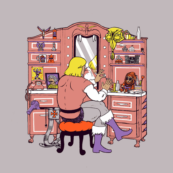 He-Man's Hobby by Georges Le Mercenaire